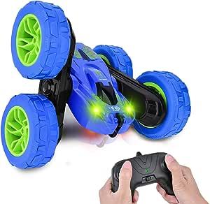 Rc Cars Toys Boy,Remote Control Car Stunt Car 360°Flips Rotating 4WD RC Car Best Boys Gift