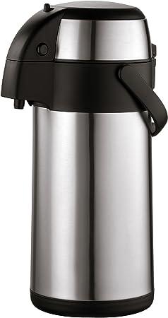 ca Caraffa termica portatile Borraccia termica portatile da 3 litri e con rubinetto 37x16x15 cm axentia Dispenser termico in acciaio INOX