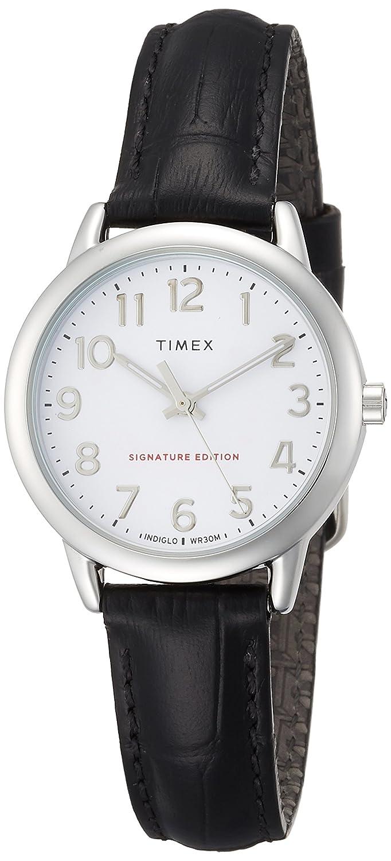 [タイメックス]TIMEX イージーリーダー 30mm ブラック TW2R65300 【正規輸入品】 B07BQ18M1V