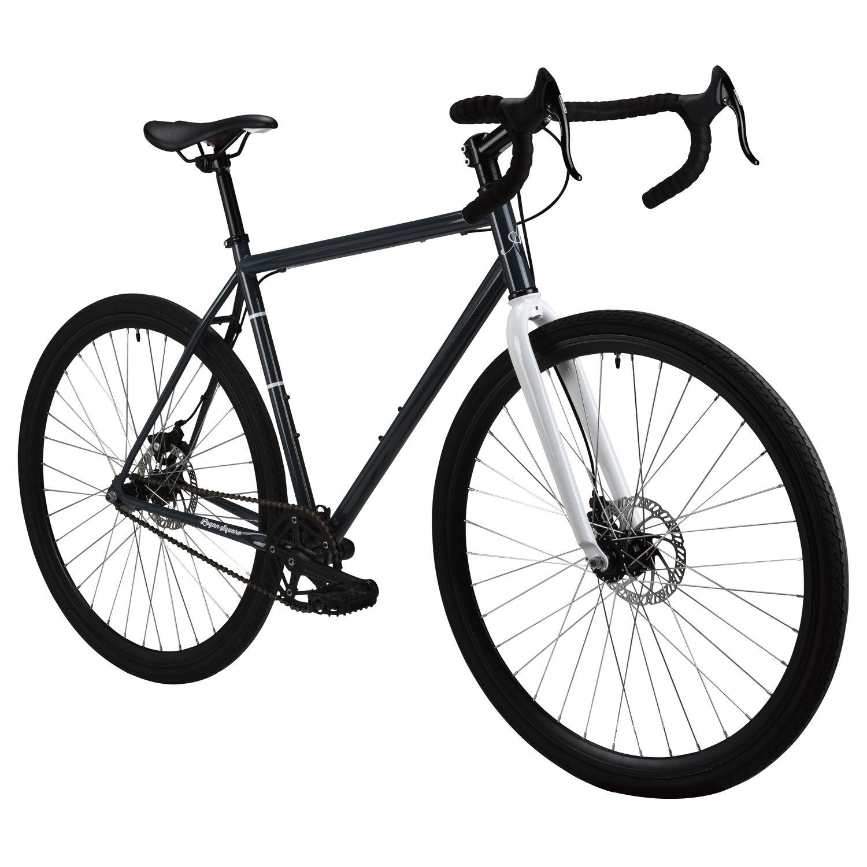 アメリカーノLogan Square single-speed City Bike – 2017パフォーマンスExclusive B06Y5715FKグレー 50