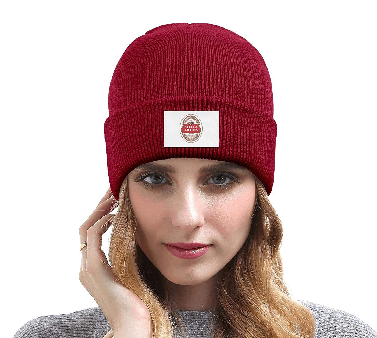 YJRTISF Popular Music Stay Warm Knit Caps Stella-Artois-Beer-Logo Unisex Trending Beanie Hat for Men