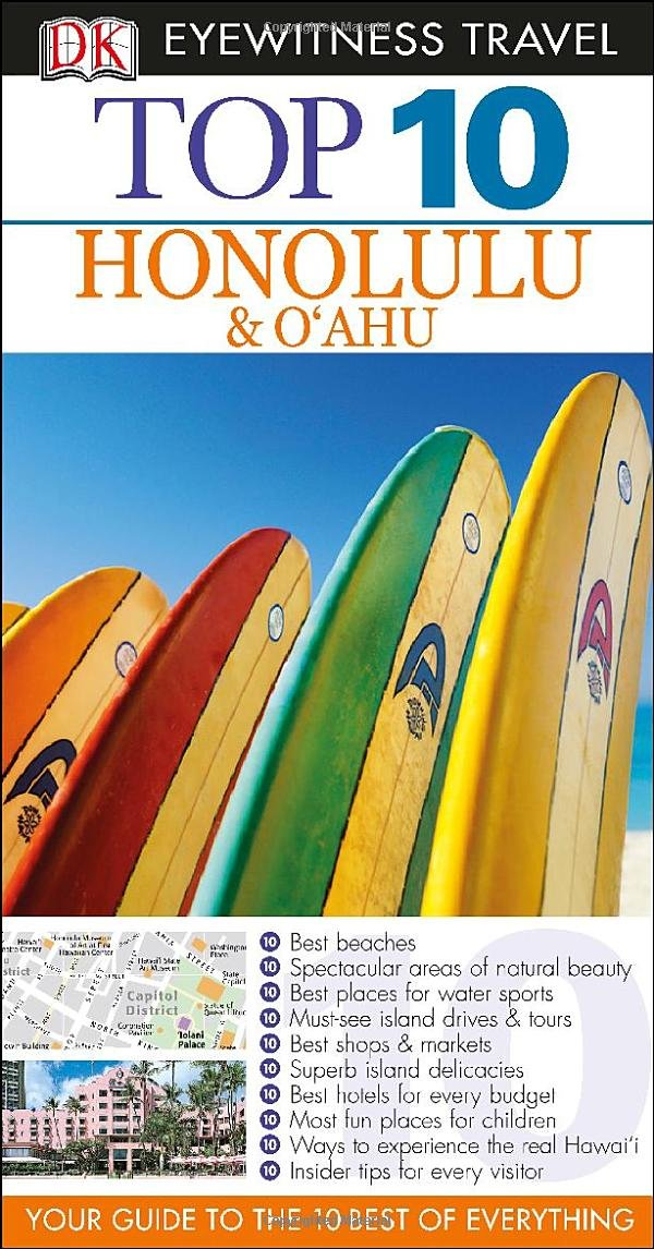 Honolulu Oahu Eyewitness Travel Guide