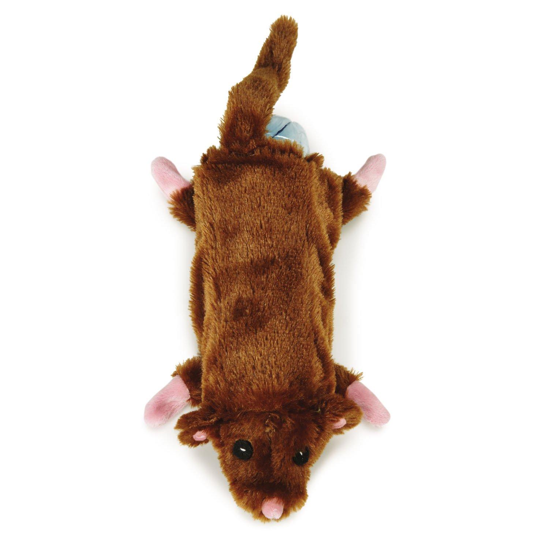 Zanies Barnyard Unstuffies Mouse Pet Toy 50%OFF