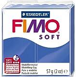 Staedtler Fimo - Pasta de modelar que se endurece en el horno, color azul brillante