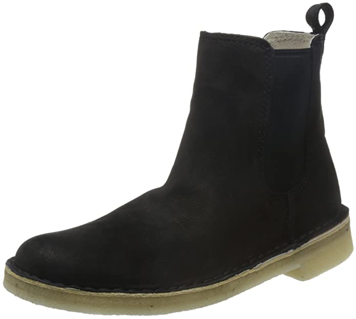 Clarks Desert Peak W Stiefel Black Leather 37 EU