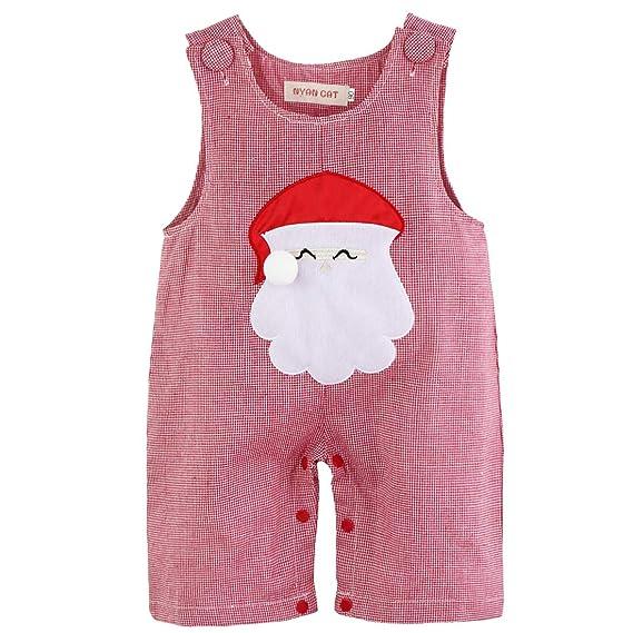 CHICTRY Pelele de Fiesta de Navidad Disfraces de Navidad Fiesta Papá Noel para Bebé Niño Traje de Santa Claus Recién Nacido Unisex: Amazon.es: Ropa y ...