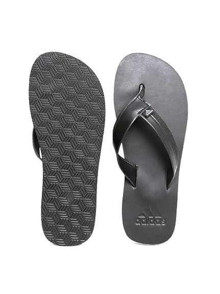 3c43ab617bc3 Adidas Men Black Brizo 3.0 Flip-Flops (9UK)  Buy Online at Low Prices in  India - Amazon.in