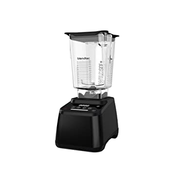 Blendtec Designer 625 Blender - WildSide+ Jar (90 oz) - Professional-Grade Power - 4 Pre-Programmed Cycles - 6-Speeds - Refurbished - Black