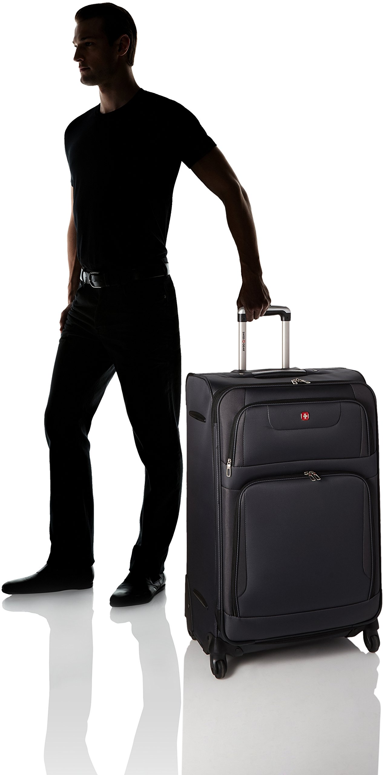 SwissGear Maggiore 28'' Suitcase, Grey by SwissGear (Image #6)
