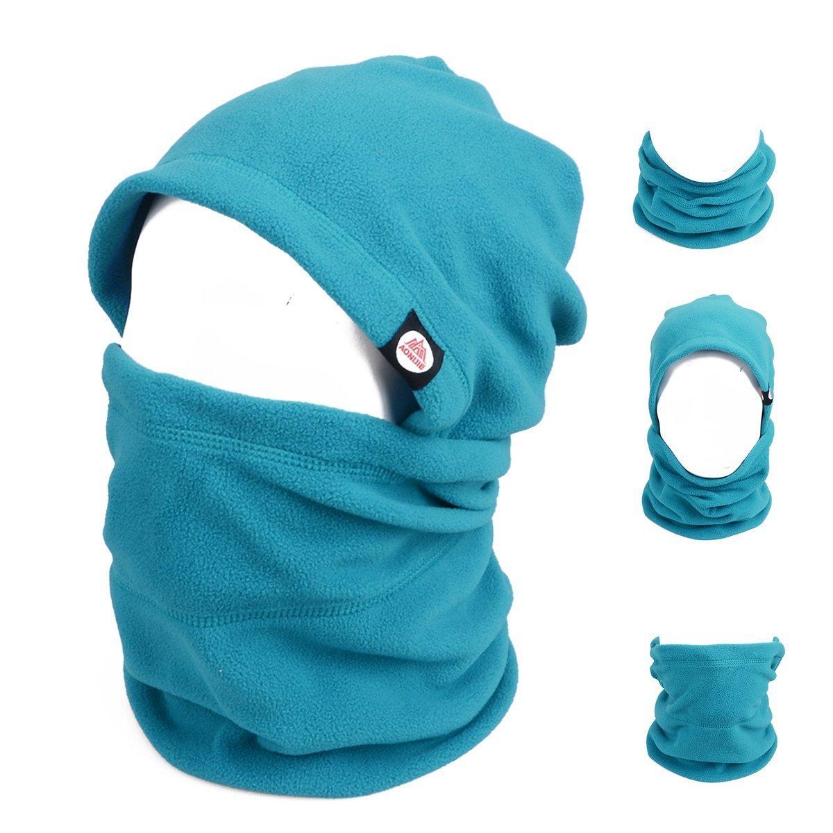 TRIWONDER Balaclava Hood Hat Thermal Fleece Face Mask Neck Warmer Full Face Cover Cap Winter Ski Mask