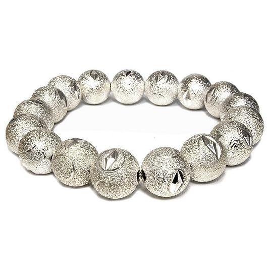 Pulsera de plata diamond Cut fabricado con aluminio por Joe Cool