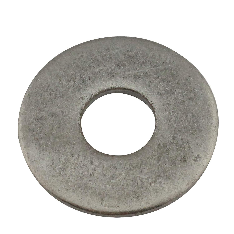 Edelstahl A2 V2A Gro/ße Unterlegscheiben Form A Gr/ö/ße: M8 D2D |VPE: 10 St/ück DIN 9021 Beilagscheiben Kotfl/ügelscheiben