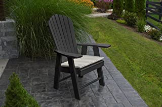 product image for Poly Upright Adirondack Chair - Black