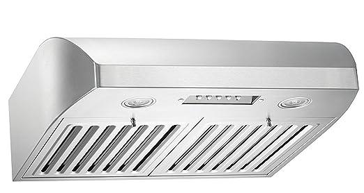 Amazon.com: KOBE CHX2224SQB-1 Brillia 24-inch Under Cabinet Range ...