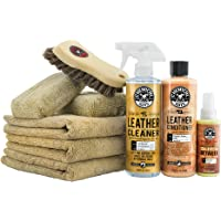 Chemical Guys HOL303 4 Fl.Oz Leather Cleaner and Conditioner Care Kit