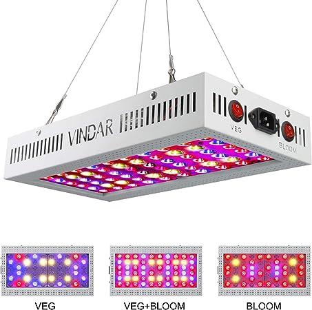 LED Grow Light 1000W 600W 200W 120W 45W Full Spectrum For Greenhouse Indoor Veg