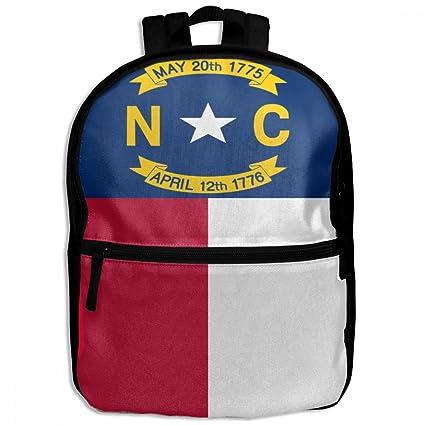 Amazon Com Children S School Backpack Flag Of North Carolina Cool