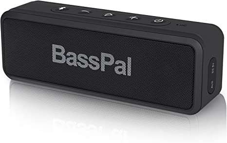 BassPal Bluetooth Speaker, SoundRo X3 Portable Wireless