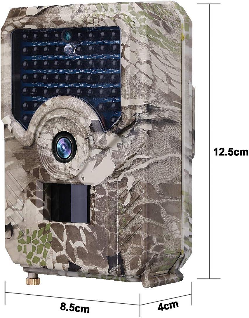 42 LED SUGERYY visione notturna HD 1080p Telecamera da caccia