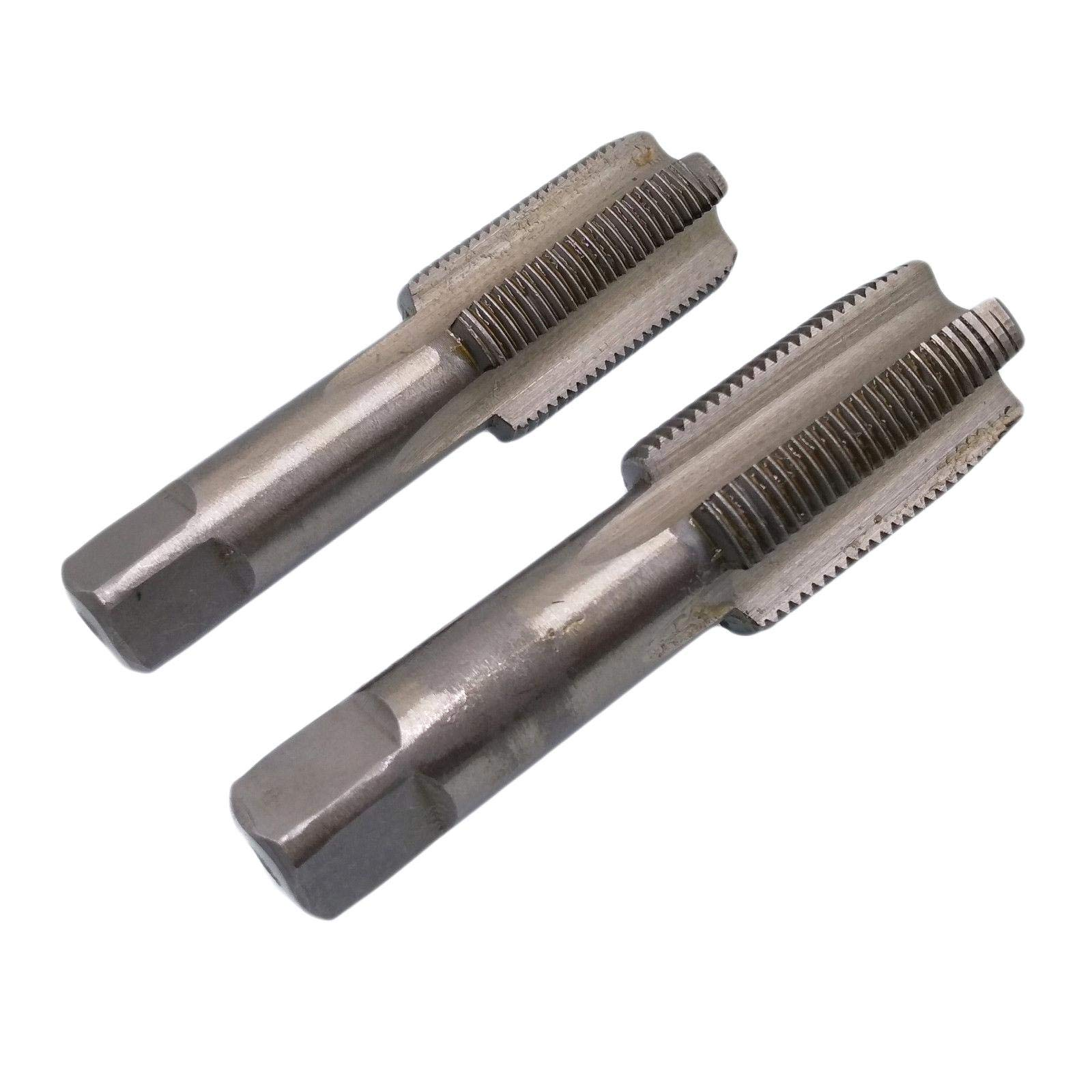 HSS 22mm x 1.5 Metric Taper and Plug Tap Right Hand Thread M22 x 1.5mm Pitch by Yodaoke