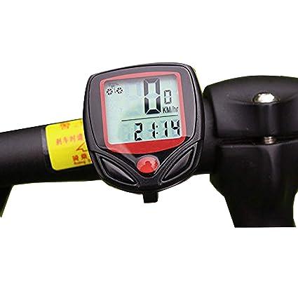 Mein HERZ Bicicleta Cuentakilómetros, Ciclocomputador Ordenador ...