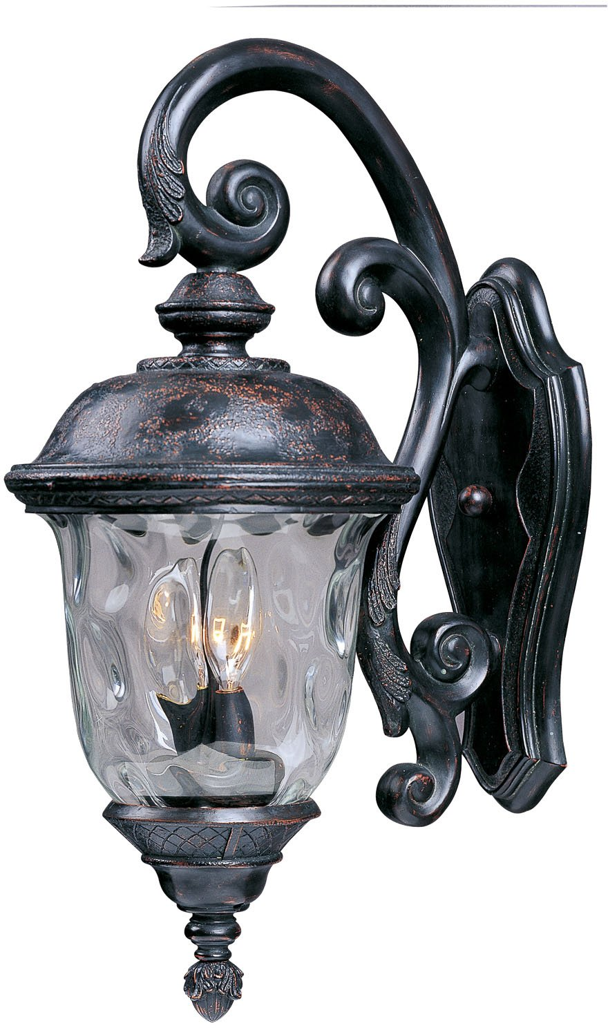Maxim lighting 3497wgob carriage house dc 3 light top mount outdoor maxim lighting 3497wgob carriage house dc 3 light top mount outdoor 265 inch wall lantern oriental bronze finish wall sconces amazon aloadofball Gallery