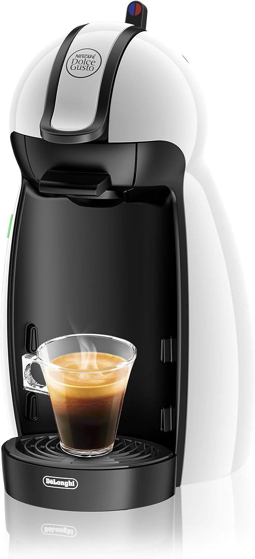 Dolce Gusto Piccolo EDG100 Cafetera de cápsulas, 1460 W, 0.6 litros, acero inoxidable, Blanco: Amazon.es: Hogar