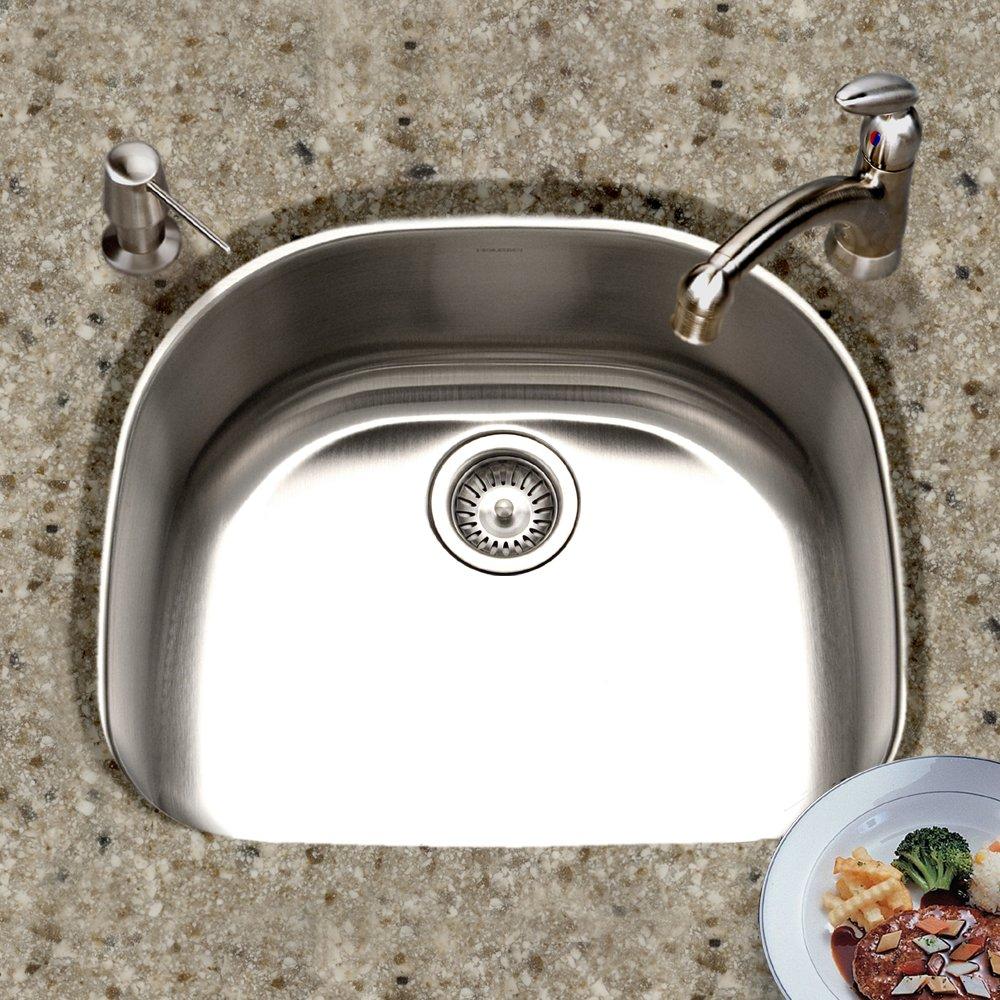 Houzer MS Medallion Designer Series Undermount Stainless - Houzer kitchen sink