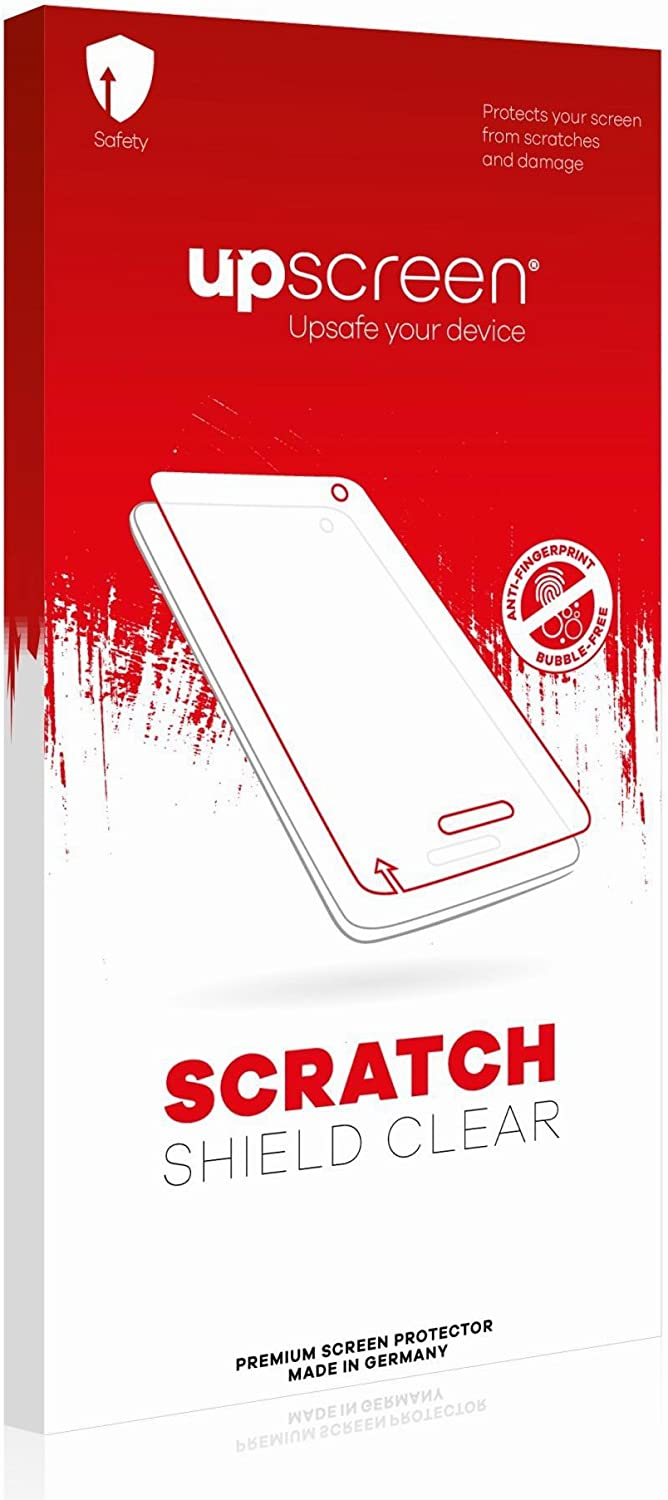 upscreen Scratch Shield Clear Screen Protector for Motorola MC3100 Strong Scratch Protection Multitouch Optimized High Transparency