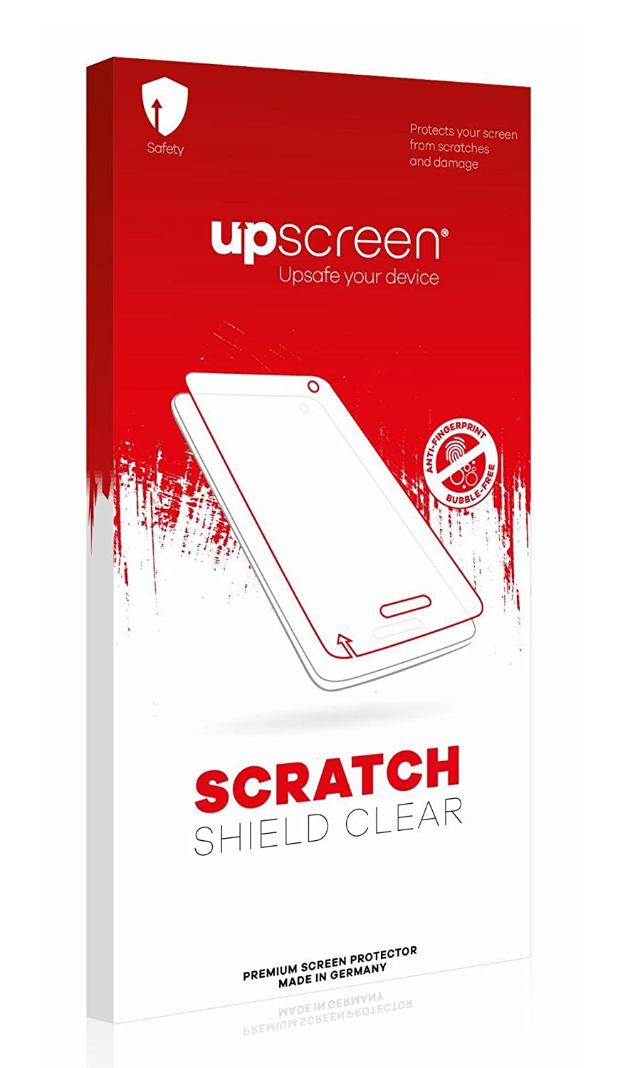 upscreen Scratch Shield Clear Screen Protector for GPD XD, Strong Scratch Protection, High Transparency, Multitouch optimized