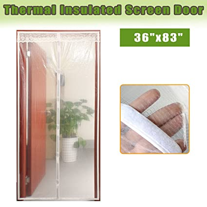 Transparent Magnetic Screen Door Curtain Prevent Air Conditioning Loss Help  Saving Electricity U0026 Money,Enjoy