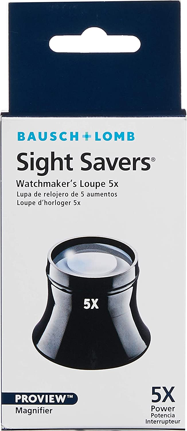 JL-5//10X Watchmakers Jewelers Eye LOUPE Made in USA.