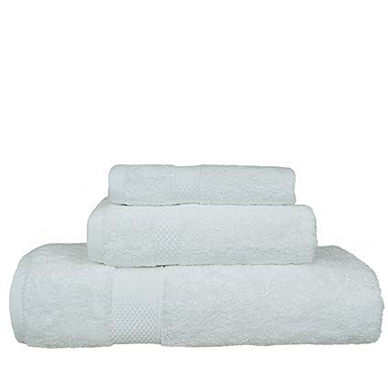Hotel de lujo y Spa toalla de algodón turco y toalla de bambú rayón Bundle 3