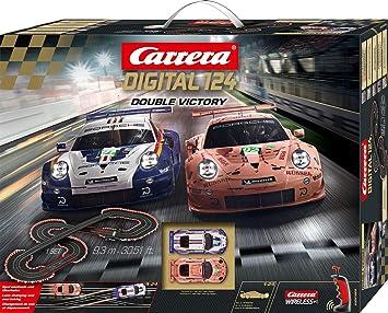 Carrera Digital 124 Double Victory 20023628 Car Racing Track Set Spielzeug