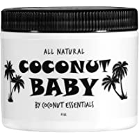 Coconut Baby Oil Organic Moisturizer - Hair and Skin Care - Cradle Cap Treatment, Eczema and Psoriasis Relief…