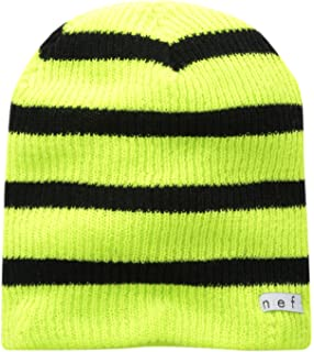 d5b173bad7a Amazon.com  NEFF Daily Stripe Slouchy Beanie Hats - Knit Beanie for ...