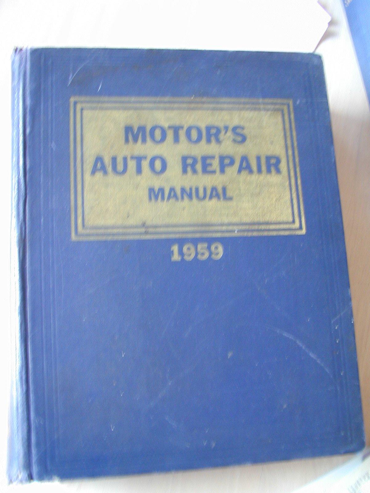 Auto Repair Manuals Free >> Motor S Auto Repair Manual 22nd Edition Ralph Editor