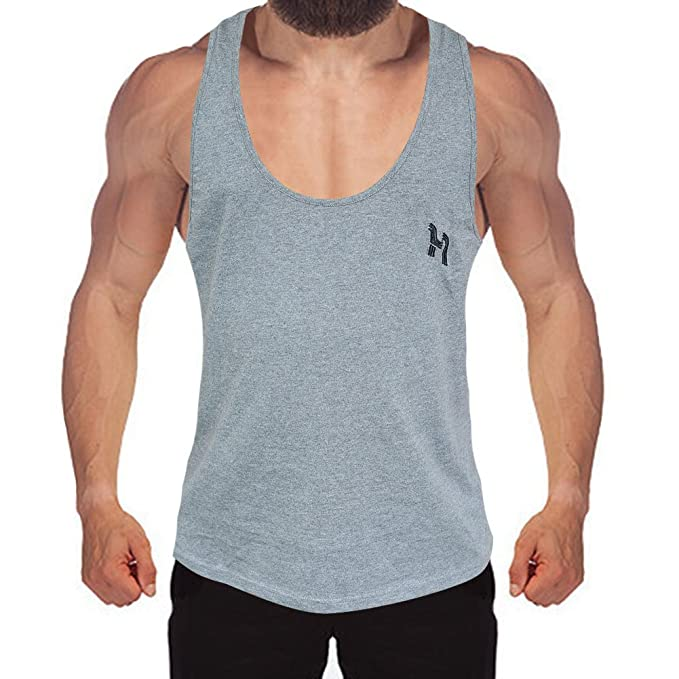 Hibote Bodybuilding Fitness Hombres Gimnasio Tank Top Stringer Sportswear Sudadera: Amazon.es: Ropa y accesorios