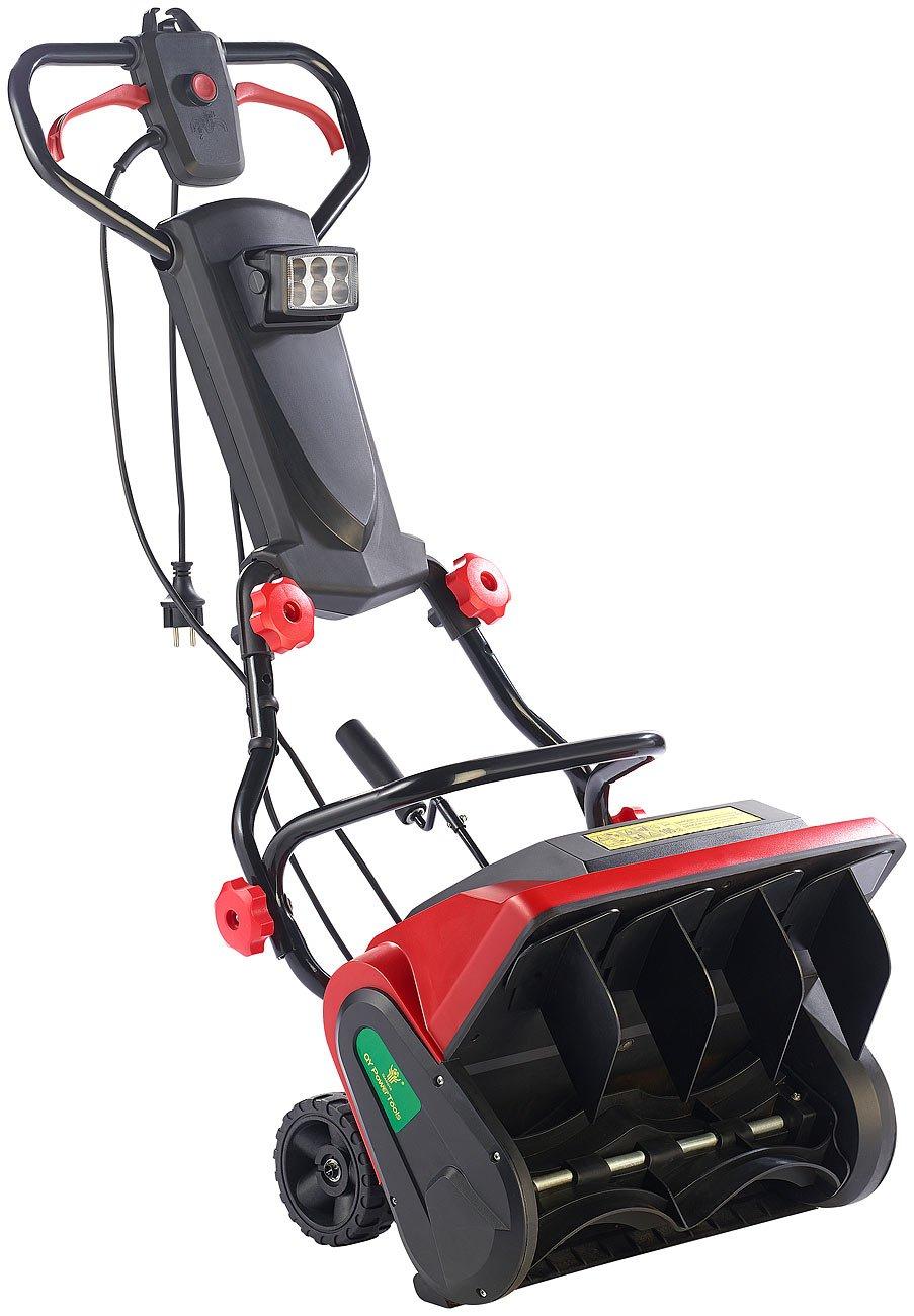 AGT Elektro Schneeschaufel: Elektrische Schneefrä se mit LED-Beleuchtung SB-213.e, 1.300 W (Schnee-Kehrmaschine)