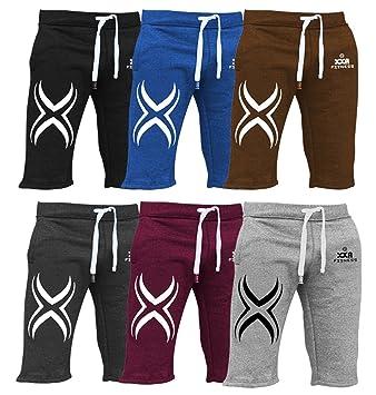 cbd1e684 XXR X1 Mens Fleece Shorts Jogging Bottom Joggers MMA Boxing Gym Fitness Sweat  Shorts Casual Home