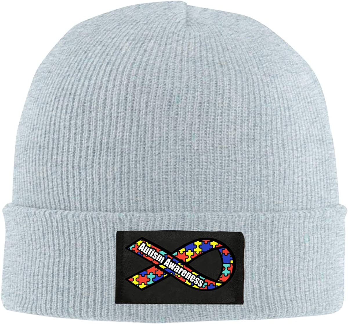 BF5Y6z/&MA Unisex Autism Awareness Knitted Hat 100/% Acrylic Daily Beanies Cap