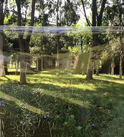 YUDEYU Cristal Lona Alquitranada Vidrio Suave Totalmente Transparente El Plastico Lona Alquitranada Balcón Paño Cortar Empujar Y Jalar Cortina Envolvente (Color : Claro, Size : 2x2m): Amazon.es: Hogar