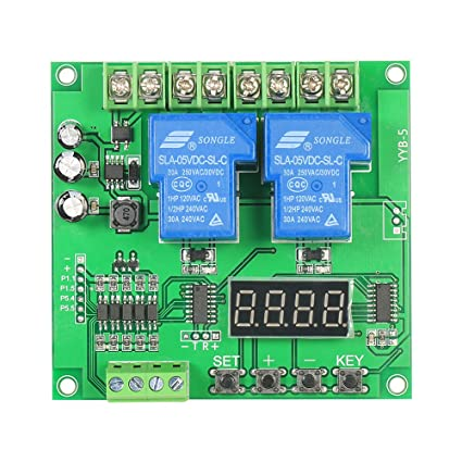 KKmoon 12V/24V 2-Channel Motor Driver Shield Board 30A LED