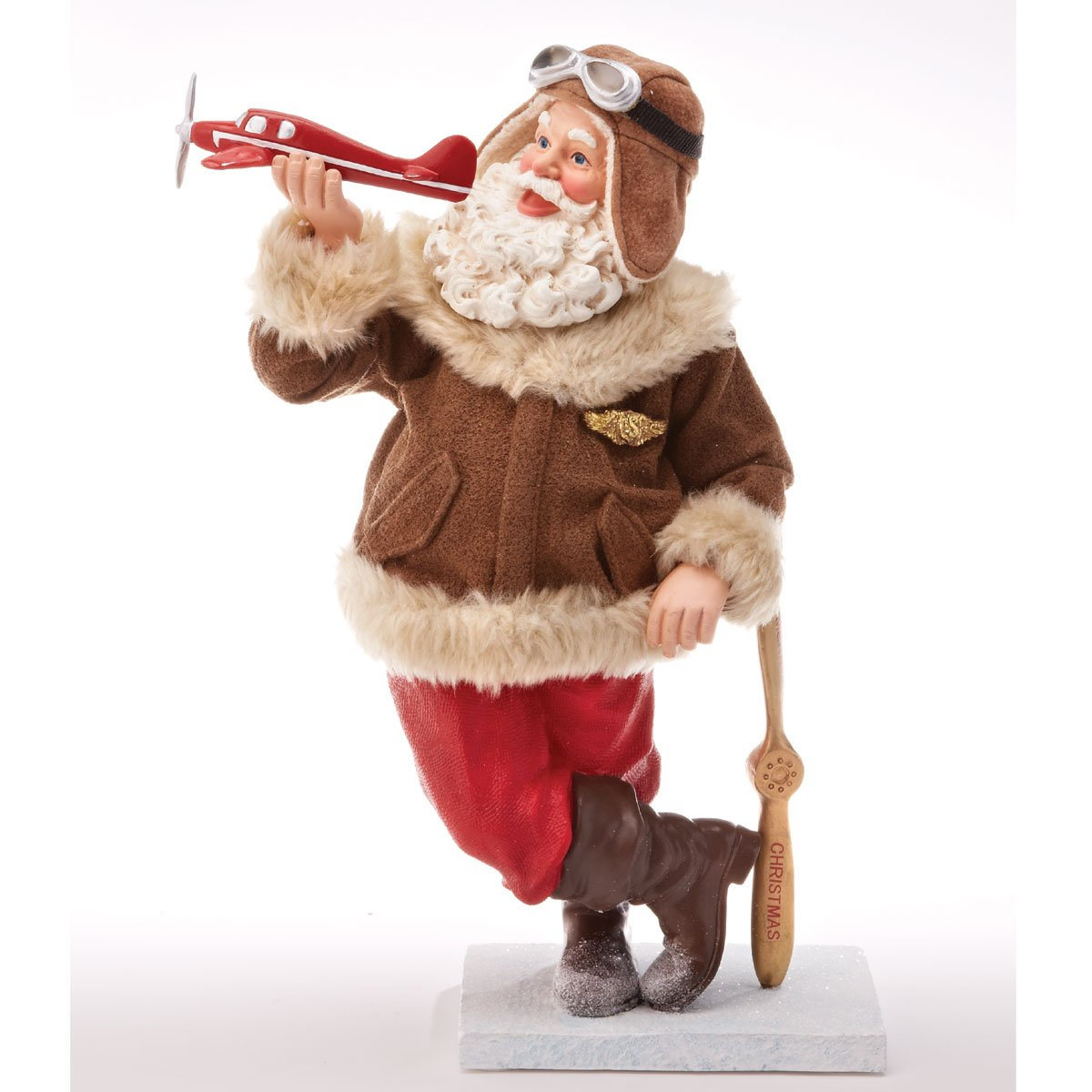Possible Dreams Collectible Fly Boy Santa Limited Edition Christmas Decoration