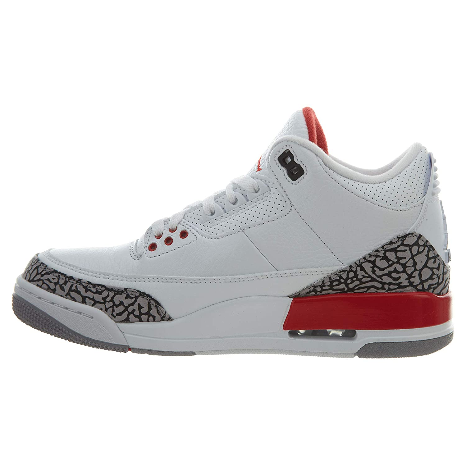 premium selection 34a31 8afc4 Air Jordan 3 Retro Katrina 136064 116 Size 7.5 White/Red/Black