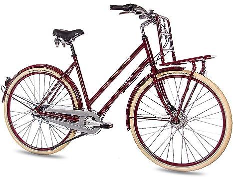 CHRISSON 28 Pulgadas Vintage City Cilindro de Rueda de Bicicleta ...