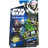Star Wars 2011 Clone Wars Animated Action Figure CW No. 54 Saesee Tiin