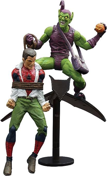 Diamond Select Toys Marvel Select Classic Green Goblin vs Spider Man Action .