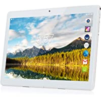 Tablet, Kivors 3G Tablet 10 Pulgadas IPS HD Android 7.0 (Quad Core Processor, 1GB RAM, 16GB ROM, HD 1200 * 800 IPS, Doble Cámara, Doble Sim, WiFi, Bluetooth 4.0, OTG)