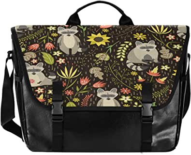 Fox Ha Lovely Leaves - Bolso de lona para hombre y mujer, diseño retro de hojas